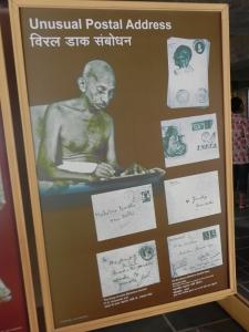 Gandhiji's mailing address