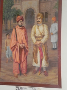 Thakur Saheb with Swamiji