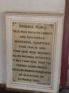 Hridaya Kunj – Gandhiji's residence