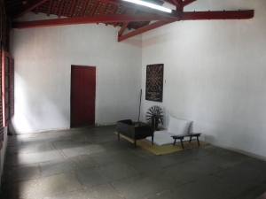 Gandhiji's famous room where many significant decisions were made