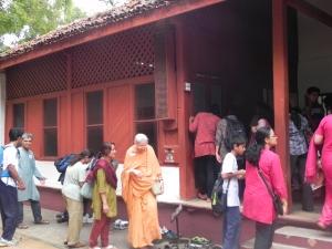 At the Hridaya Kunj