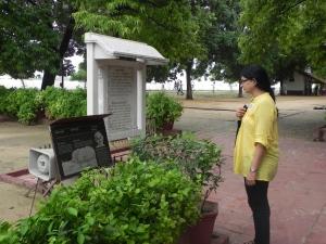 The ashram's sacred prayer ground – Upasana Mandir