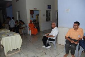 Limbdi Ashram with Swami Adibhavananda