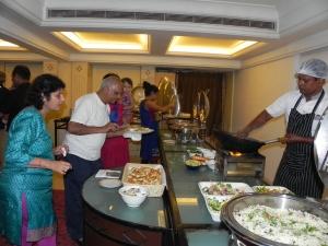 The grand dinner