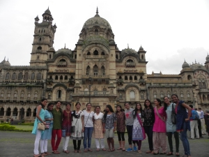 The daughters of Vivekananda Vidyapith