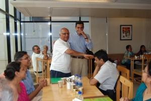 Thanking Rasheshbhai (some light moments)