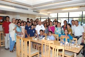 Group photo in Sankalp… a joyful memory