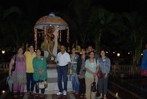 Shri Krishna in open ground