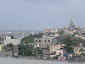 Glimpse of Dwarakadhisha's Temple