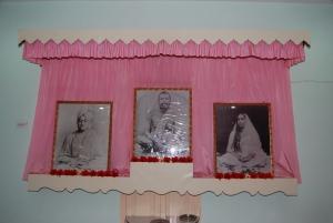 Altar in Swami Vivekananda's room