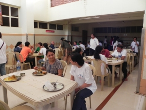 Big dining hall