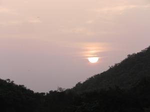 Sunset at Girnar