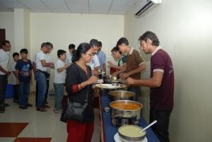 Dinner at Indraloka