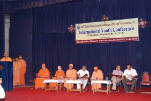 Anchor of the IYC – Swwami Atmashraddhananda