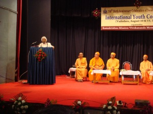 Dr. Abdul Kalam addressing the audience