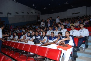 Vidyapith delegates in uniform