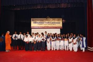Group photo with Pr. Shuddhatmaprana