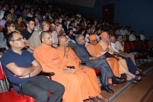 Audience enjoying the talks