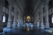 Huge Prayer Hall of Belur Math