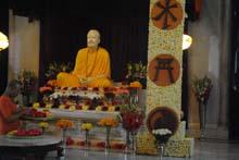 Sri Ramakrishna on a special celebration day