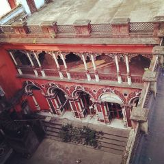 Jhamapukur Rajbari 5 only part left where Ramakrishna used to come for worship