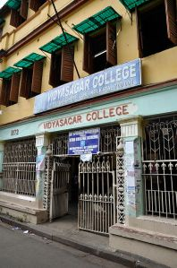 Sankar_Ghosh_Lane leading to M's house 3 showing Vidyasagar College