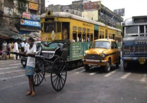 tram-Taxi-Bus-Rickshaw only possible in-kolkata