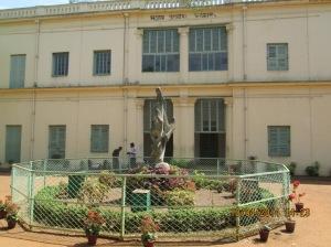 Anirban Sikha with Shantiniketan Griha in Vishwa Bharati Campus